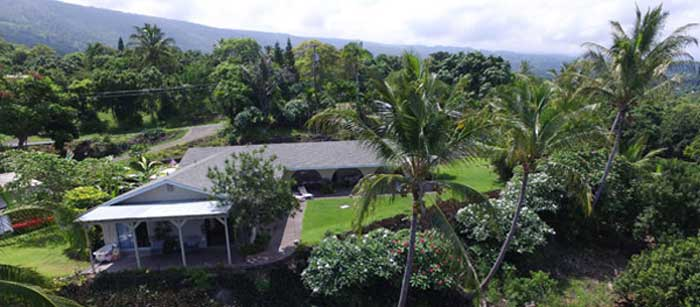 Welcome to Kona Bayview Inn Arial